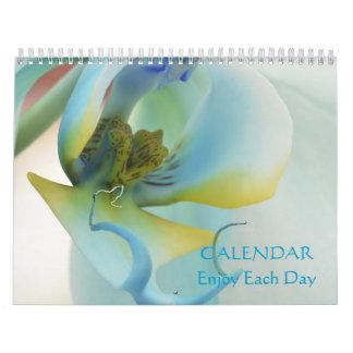 Blume genießen jeden Tageskalender Kalender