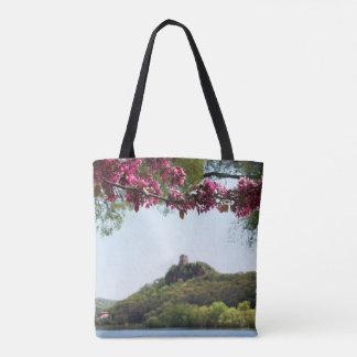 Blume gerahmtes Sugarloaf Tasche