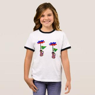 Blume im kleinen Vase T - Shirt