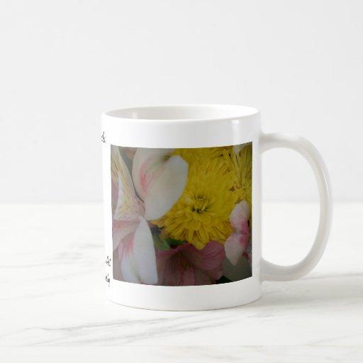 Blume lächelt CricketDiane Kunst u. Fotografie Kaffee Haferl