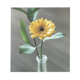 Blume Notizblock