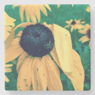 Blume u. Biene Steinuntersetzer