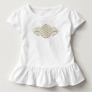 Blume von Leben-/Blume-DES Lebens - Vintages VIII Kleinkind T-shirt