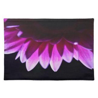 Blumegerbera-Tischset Stofftischset
