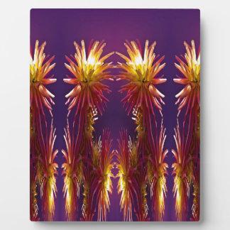 Blumen-Arbeiten Fotoplatte