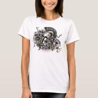 Blumen auf Waffen T-Shirt