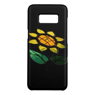 Blumen-beflecktes Glas-kleiner Case-Mate Samsung Galaxy S8 Hülle