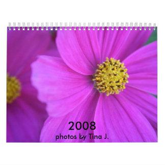 Blumen-Bilder Wandkalender