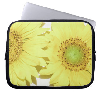 Blumen-Blumengarten blüht Fotografie Laptop Sleeve