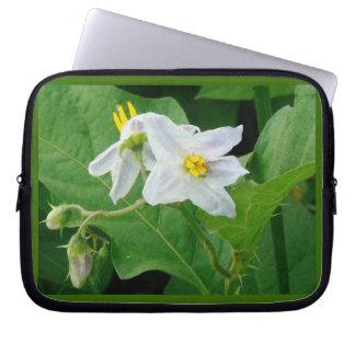 Blumen-Blumengarten blüht Fotografie Laptopschutzhülle