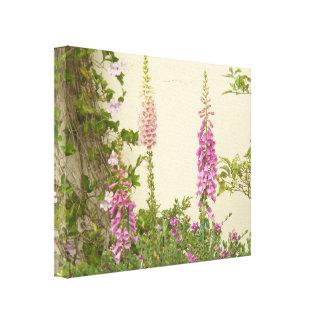 Blumen-Blumengarten blüht Fotografie Leinwanddruck