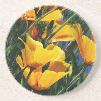 Blumen-Blumengarten blüht Fotografie Sandstein Untersetzer