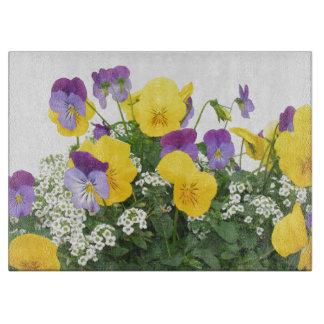 Blumen-Blumengarten blüht Fotografie Schneidebrett