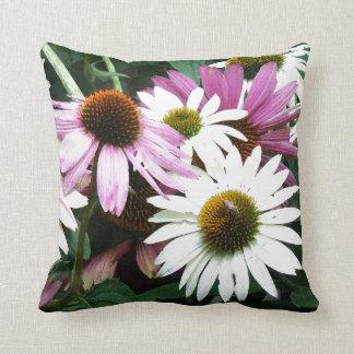 Blumen-Blumengarten-Blüten-Fotografie Kissen