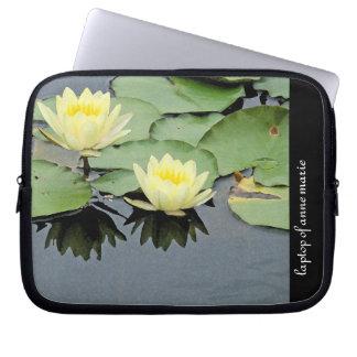 Blumen-Blumengarten-Blüten-Fotografie Laptop Sleeve