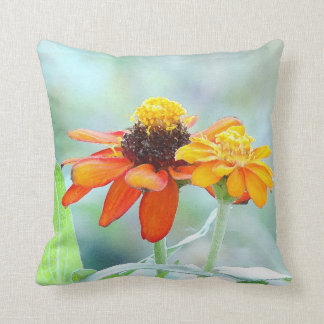 Blumen-Blumengarten-Fotografie Kissen