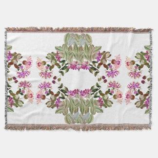 Blumen-Blumengeißblatt-Gartenthrow-Decke Decke