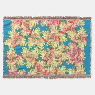 Blumen-Blumenoleander-Gartenthrow-Decke Decke