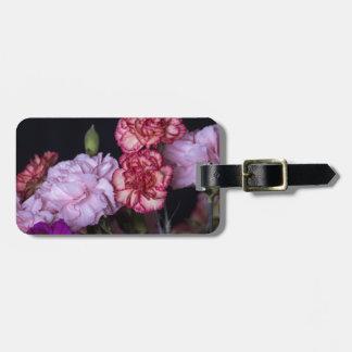 Blumen-Blumenstrauß Gepäckanhänger