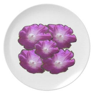 Blumen-Blumenstrauß-Geschenk-Grüße des Teller