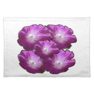Blumen-Blumenstrauß-Geschenk-Grüße des Tischset