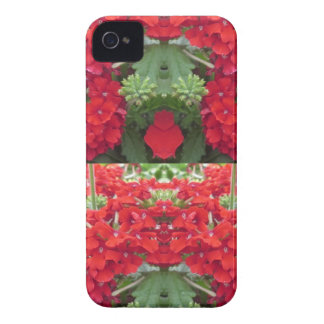 Blumen-Blumenstrauß-Kirschhügel NJ NVN213 iPhone 4 Cover