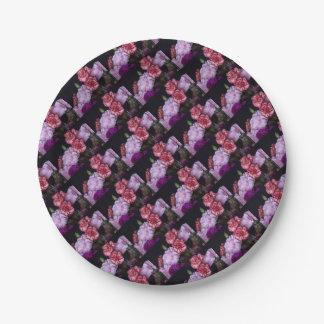 Blumen-Blumenstrauß Pappteller