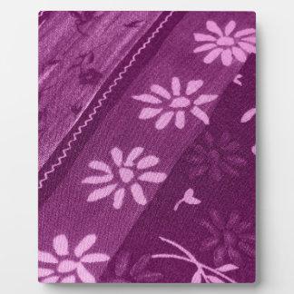 Blumen-Blüten-Rebe-lila rosa Duschen-Party Fotoplatte