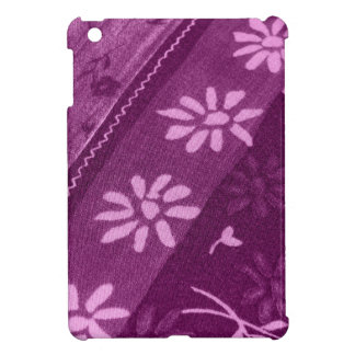 Blumen-Blüten-Rebe-lila rosa Duschen-Party iPad Mini Hülle