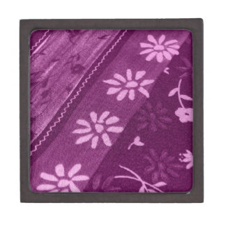 Blumen-Blüten-Rebe-lila rosa Duschen-Party Kiste