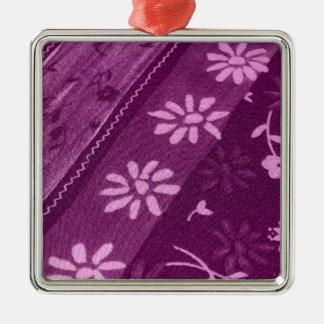 Blumen-Blüten-Rebe-lila rosa Duschen-Party Silbernes Ornament