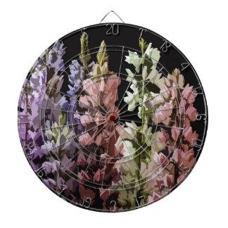 Blumen Dartscheibe
