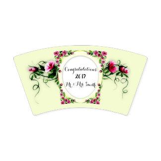 BLUMEN, die 2 Papierschale, 9 Unze WEDDING sind Pappbecher