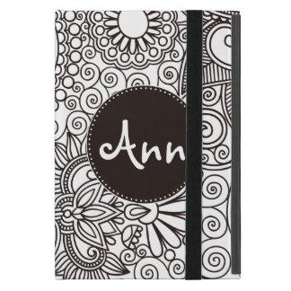 Blumen-Dschungel iPad Mini Etui