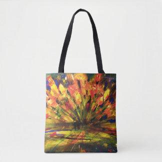 Blumen - Eindruck Tasche