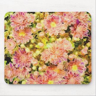 Blumen-Entwurf Mousepads