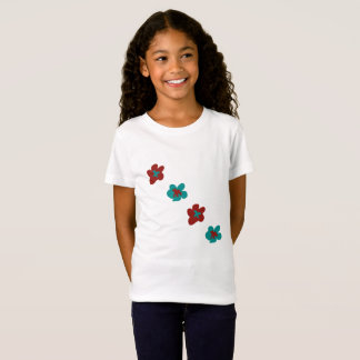 Blumen-Entwurfs-Grafiken durch Josie nahmen T-Shirt
