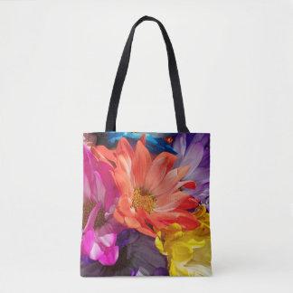 Blumen-Explosion Tasche