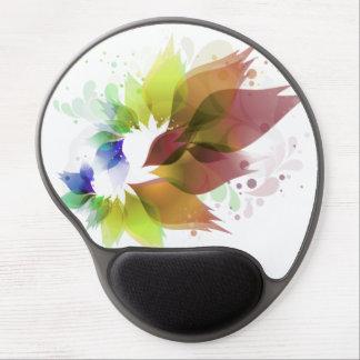 Blumen-Familien-Logo-Gel Mousepad Gel Mouse Matte