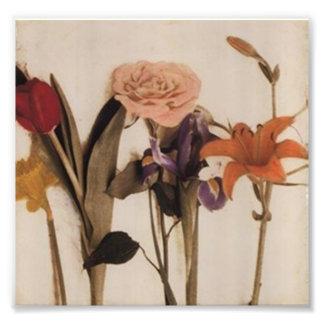Blumen Photographischer Druck