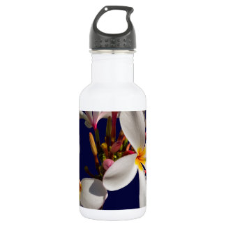 Blumen-Friedenssegen-Liebe-Park-Rebe-Schicksal Edelstahlflasche