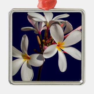Blumen-Friedenssegen-Liebe-Park-Rebe-Schicksal Silbernes Ornament