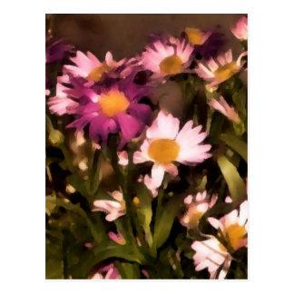 Blumen für meine Freundpostkarte Postkarten