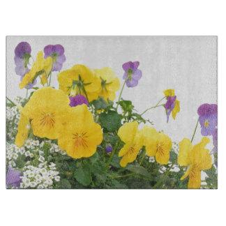 Blumen-Garten-Blumenphotographie Schneidebrett