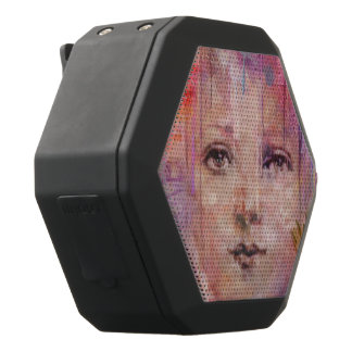 Blumen-Garten-Frauen-Farben-Bratenfett Schwarze Bluetooth Lautsprecher