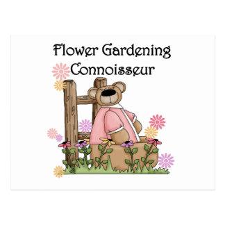 Blumen-Garten-Kenner-T-Shirts und Geschenke Postkarte