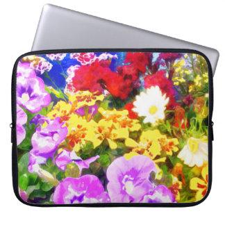 Blumen-Garten Laptopschutzhülle