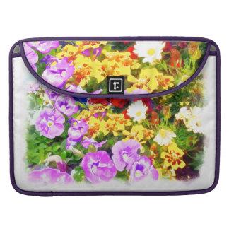 Blumen-Garten MacBook Pro Sleeve
