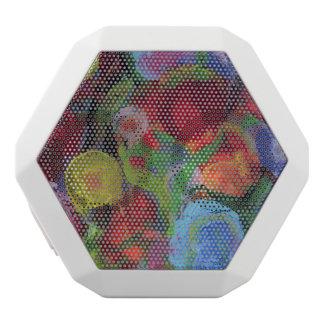 Blumen-Garten Weiße Bluetooth Lautsprecher