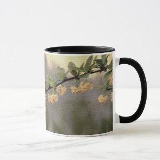 Blumen-gelbe Blüte Tasse
